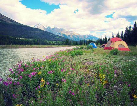 Alpine Rafting Rustic Riverside Camping