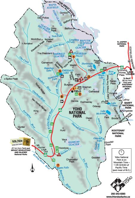 yoho_national_park_map